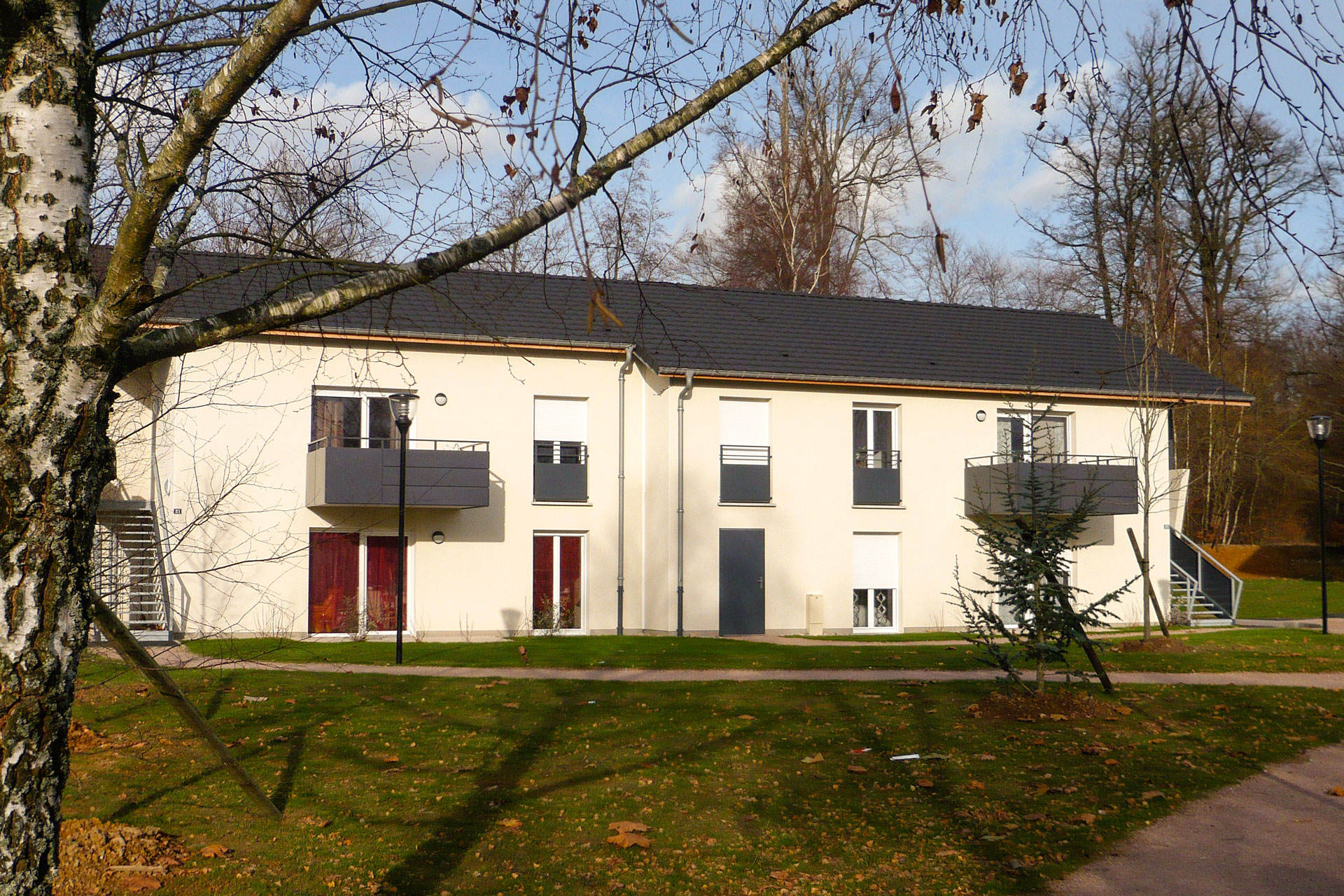 construction de 10 logements ophlm epinal