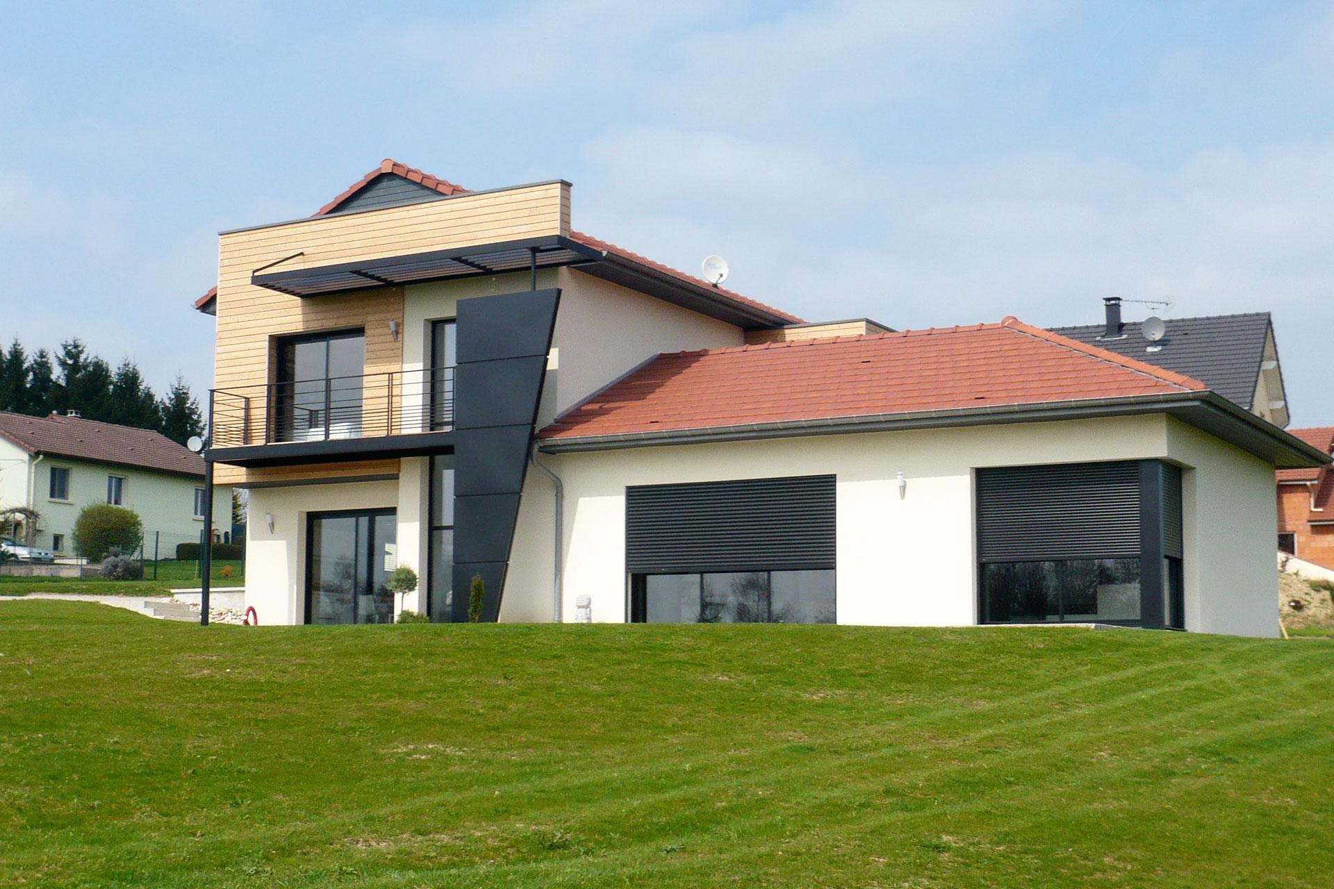 Maison contemporaine 07 16 for Maison moderne 83