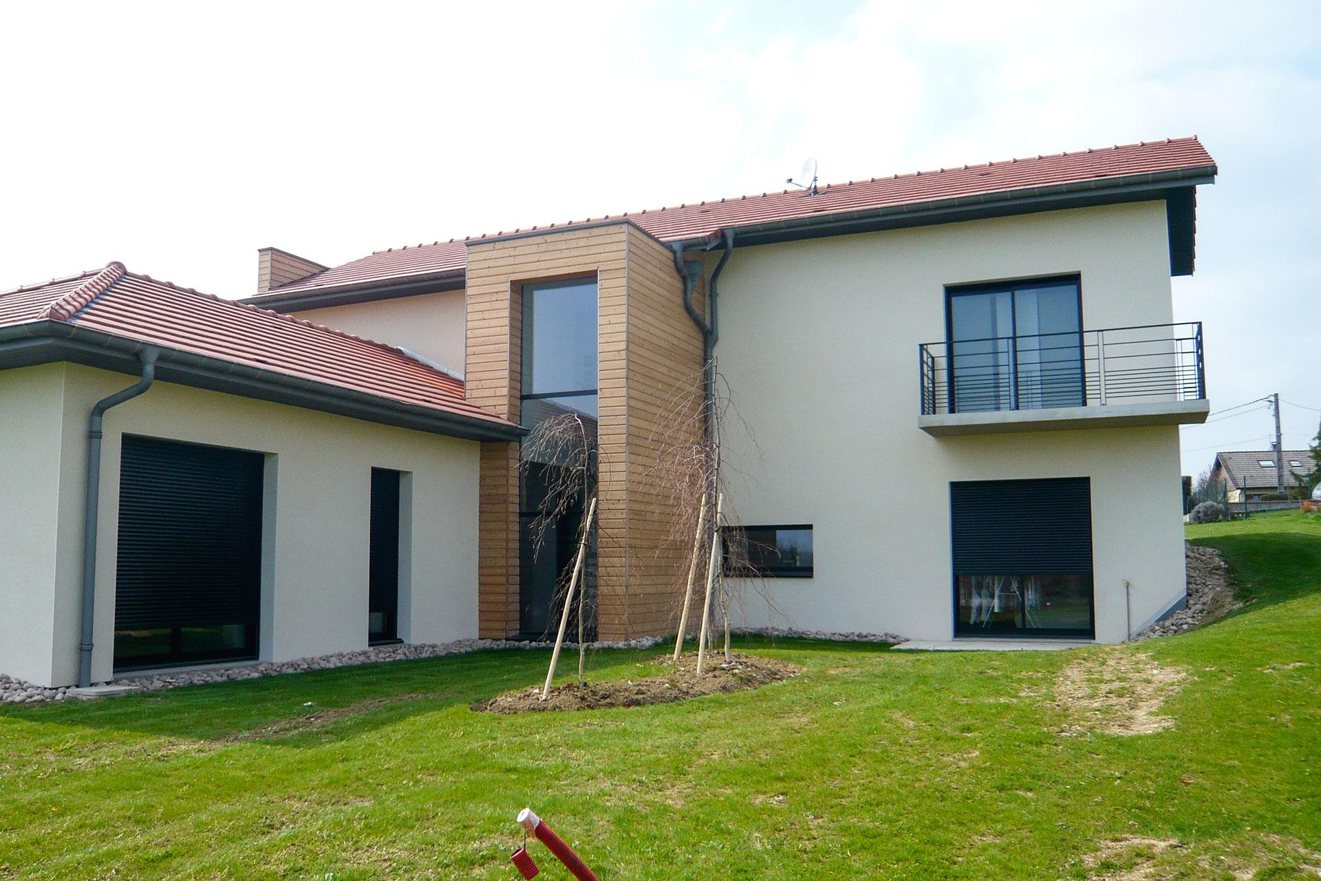 Maison contemporaine 07 16 for Maison moderne nancy