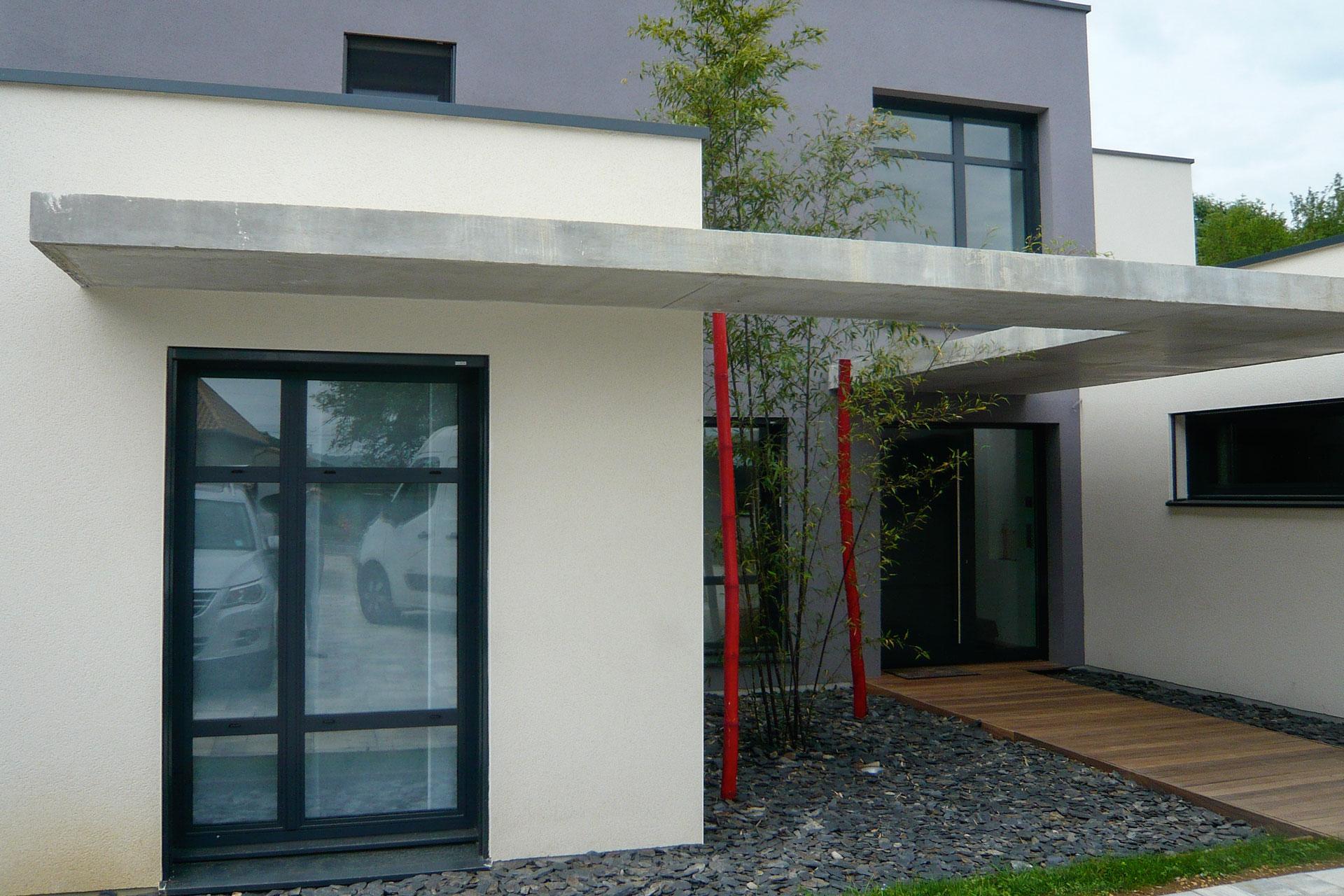 Maison contemporaine 07 18 for Maison moderne nancy