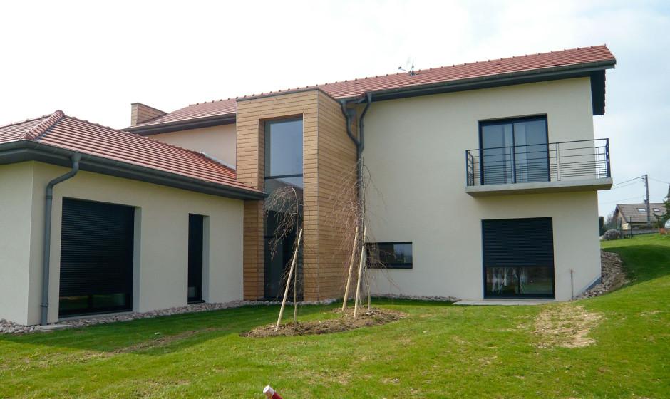 Architecte maison contemporaine nancy for Maison moderne nancy