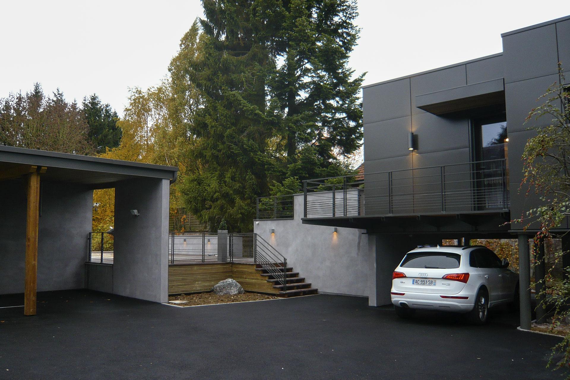Maison contemporaine 08 10 for Maison moderne nancy
