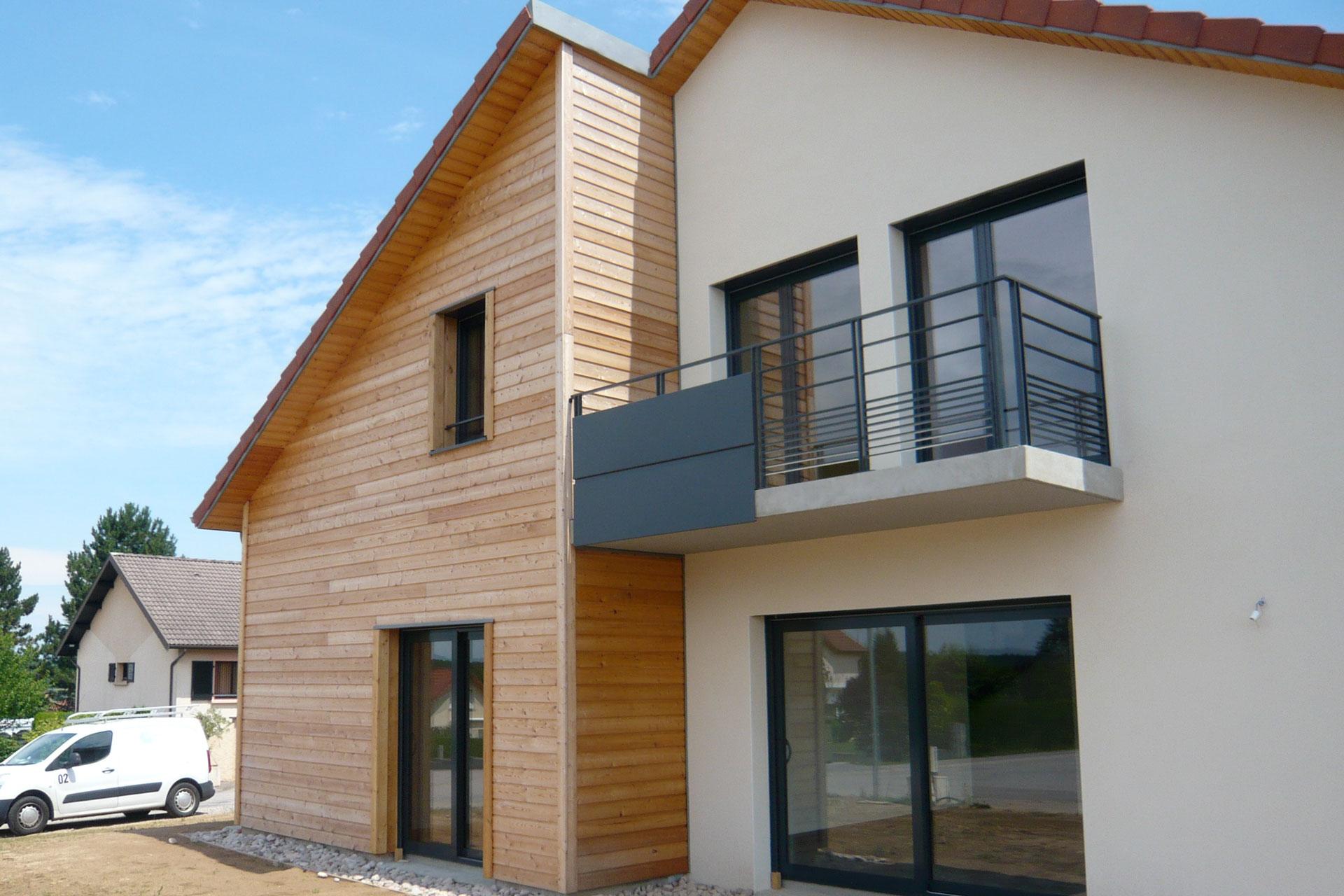 Maison contemporaine 09 10 for Maison moderne nancy