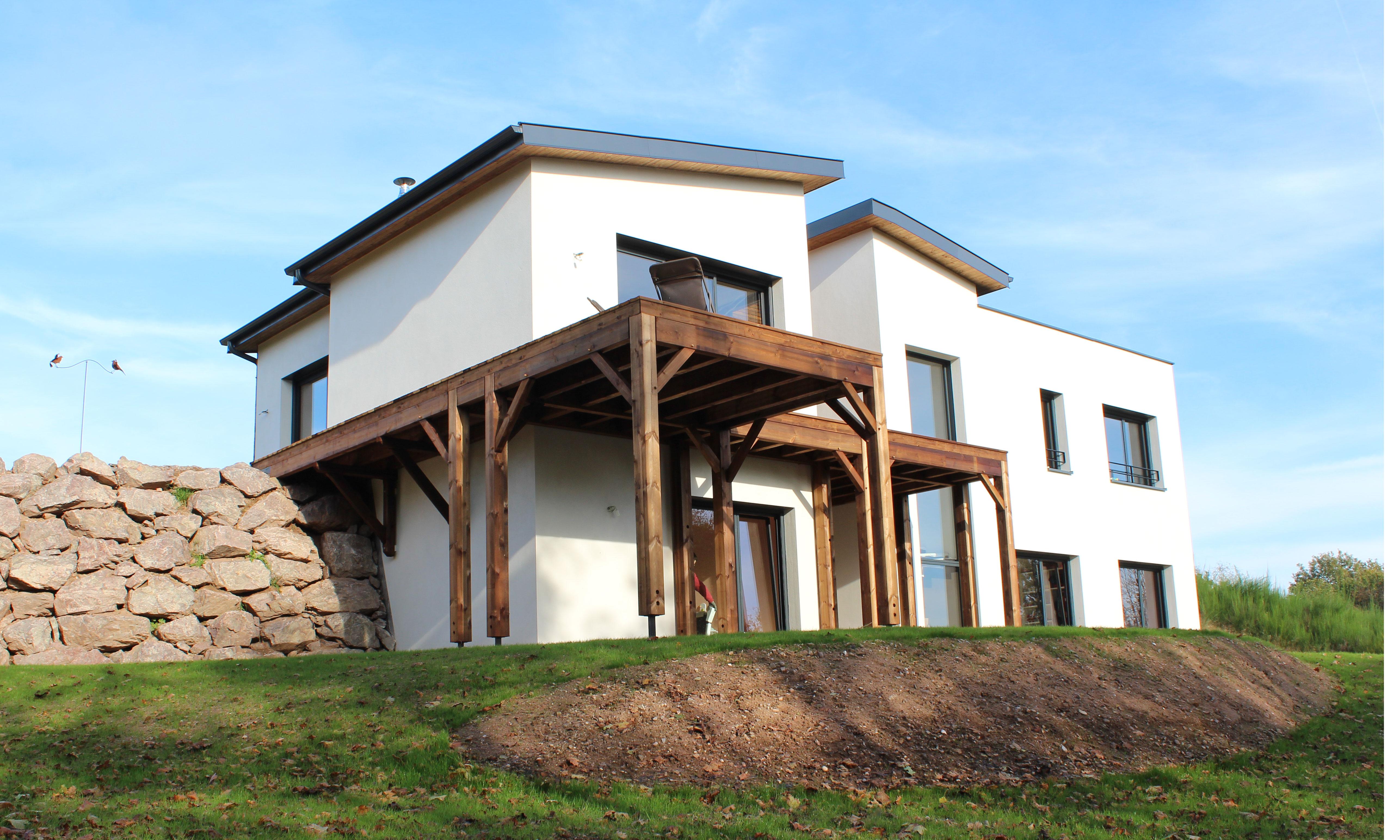 Maison contemporaine 12 15 for Maison moderne nancy